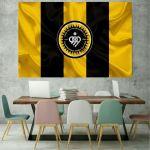 پوستر دیواری طرح پرچم فولاد مبارکه کدBH897