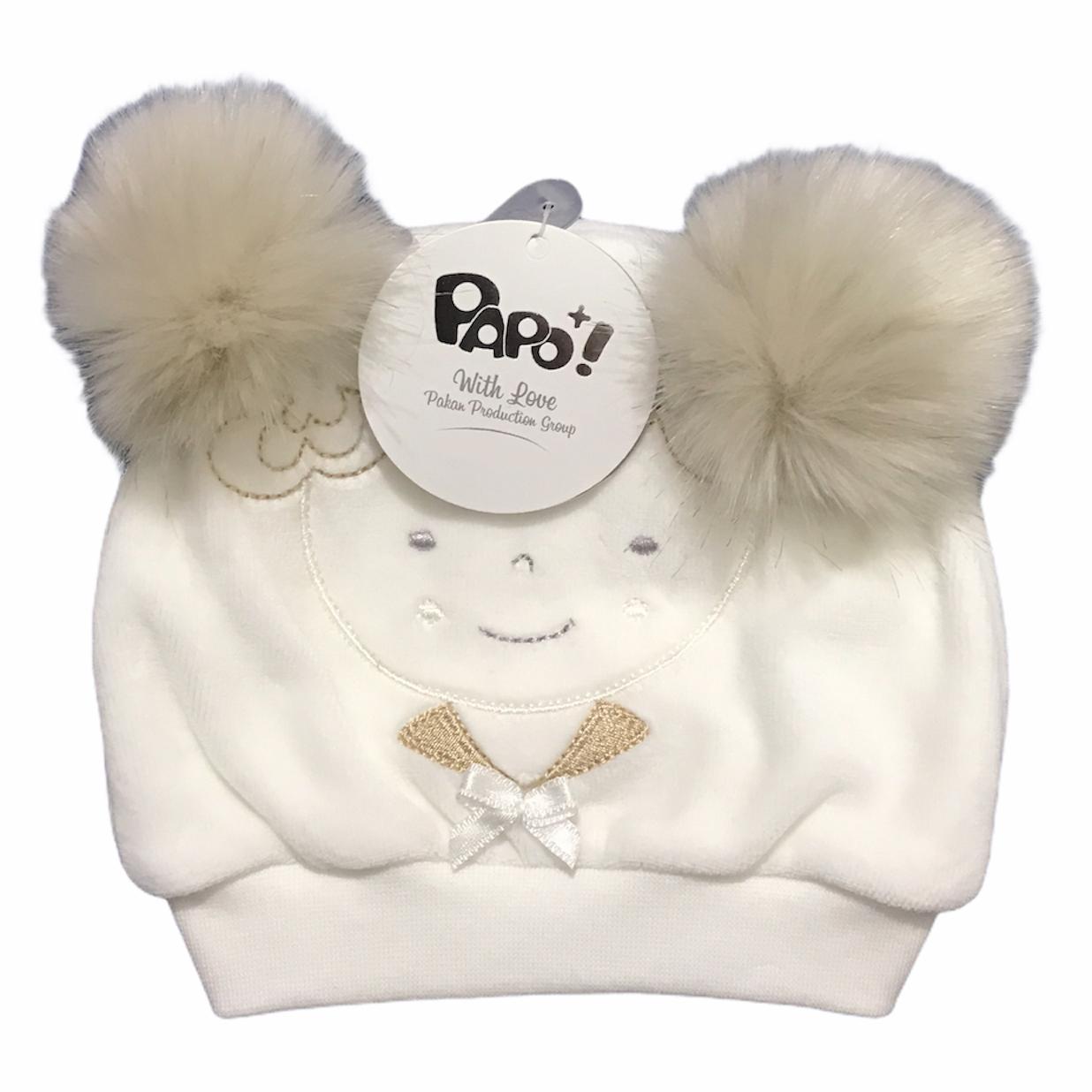 کلاه نوزادی پاپو مدل hattie کد W1