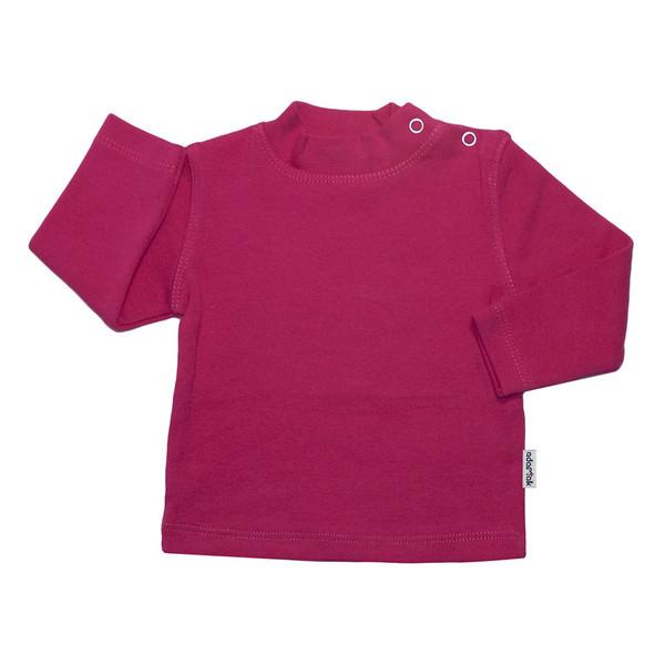 تی شرت آستین بلند آدمک کد 148401 رنگ سرخابی