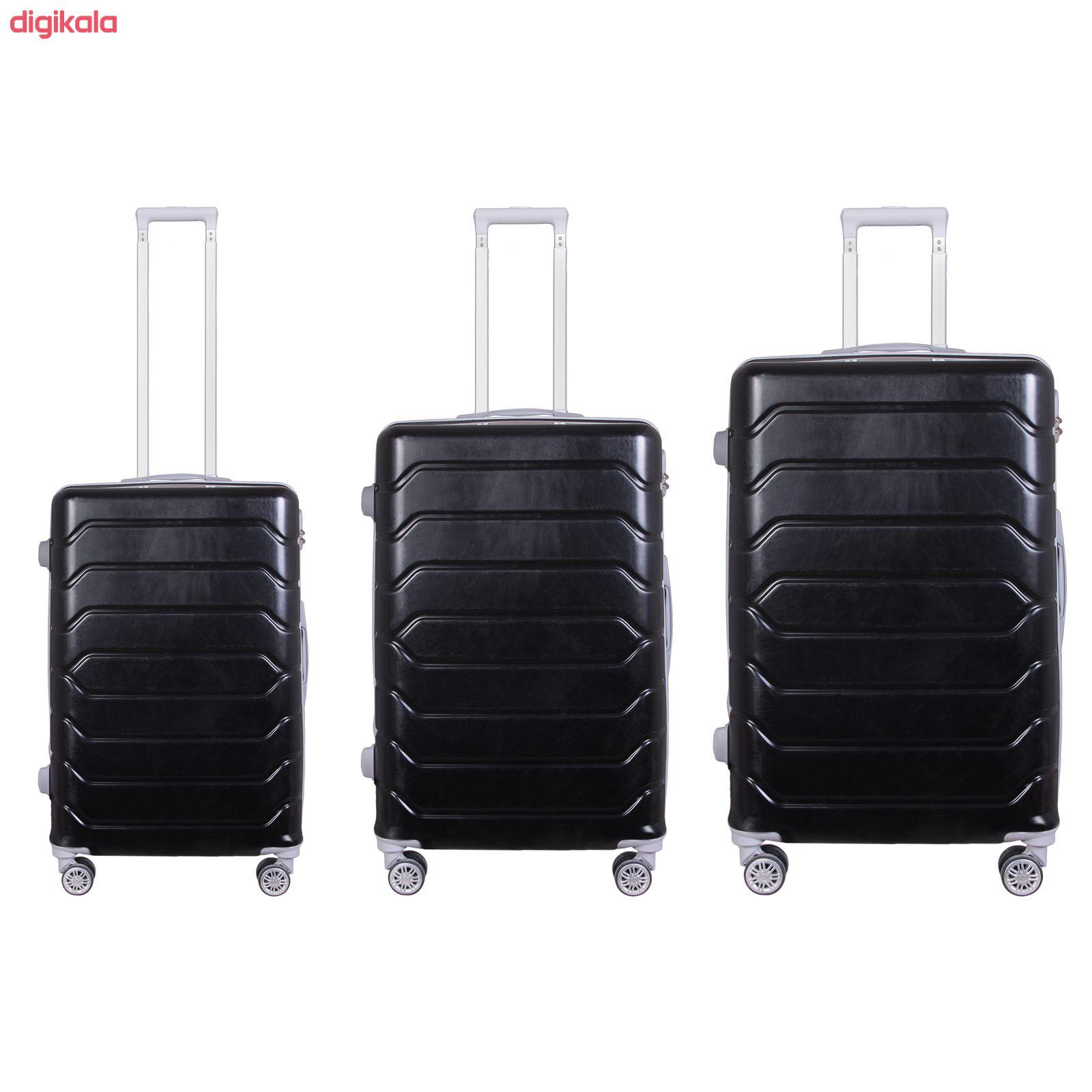 مجموعه سه عددی چمدان مدل 20020 main 1 9