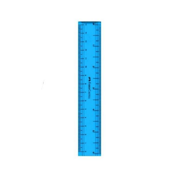 خط کش 15 سانتی متری  فابر کاستل مدل p8 07