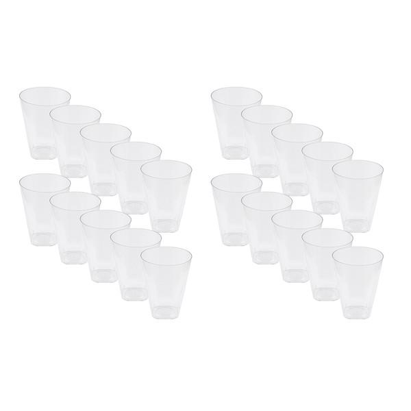 لیوان یکبار مصرف کد KSH-15-210 بسته 20 عددی