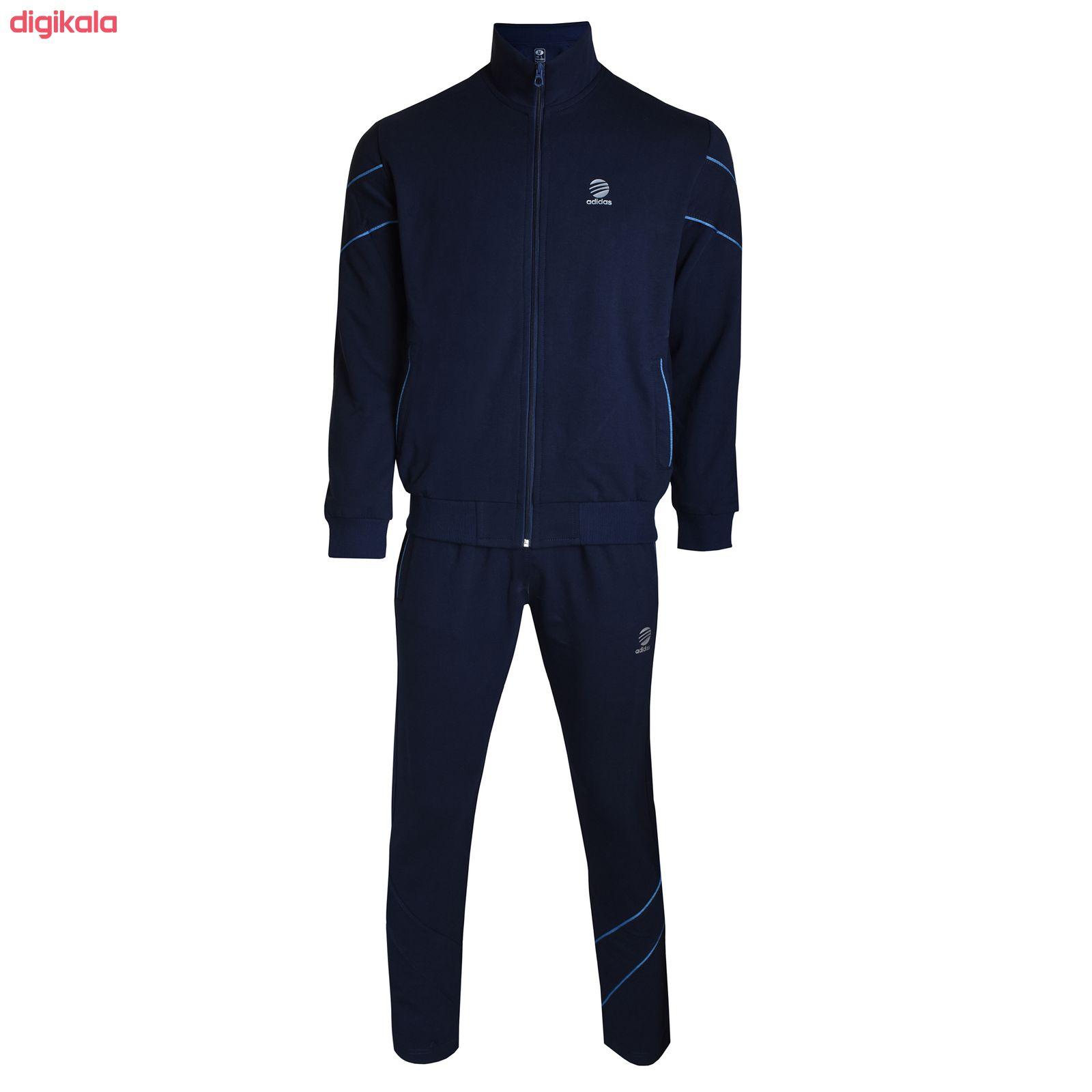 ست گرمکن و شلوار ورزشی مردانه کد AD0146na main 1 2