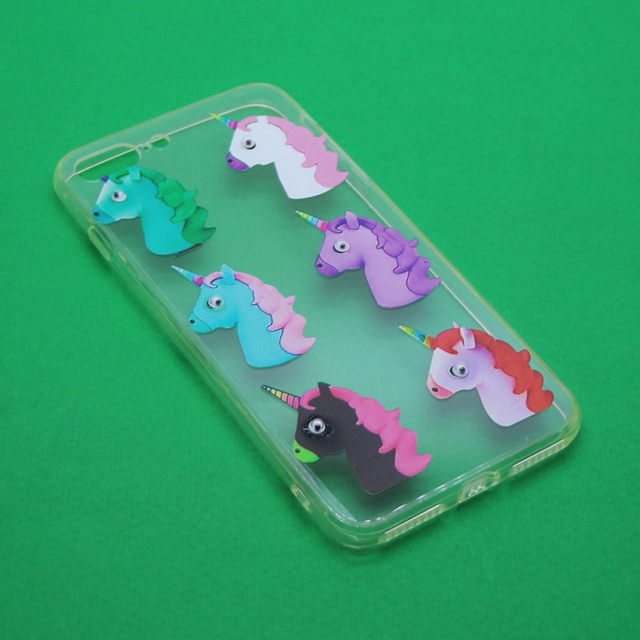 کاور طرح Unicorn مدل CLR-099 مناسب برای گوشی موبایل اپل Iphone 7 Plus/8 Plus main 1 1