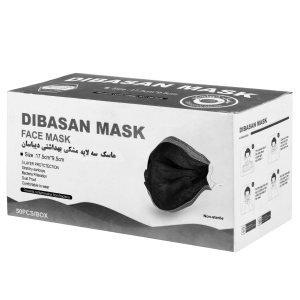 ماسک تنفسی دیباسان مدل MSE10 بسته 50 عددی