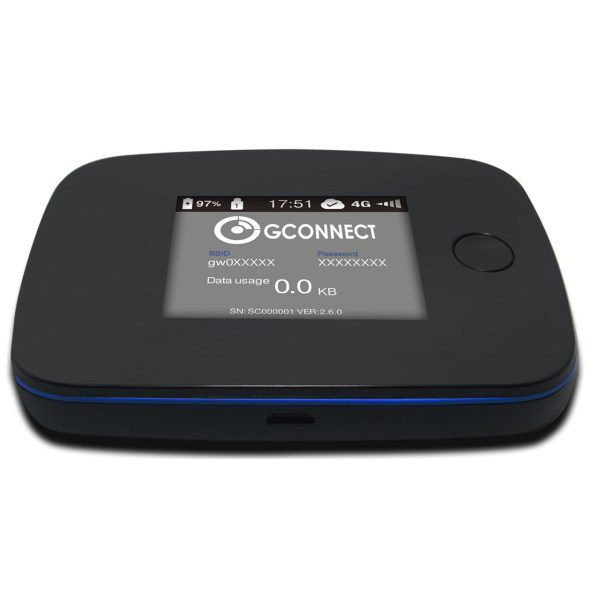 مودم همراه 4G قابل حمل جی کانکت مدل G3