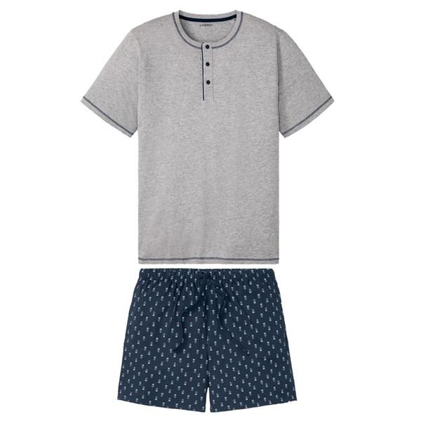 ست تی شرت و شلوارک مردانه لیورجی مدل p333899