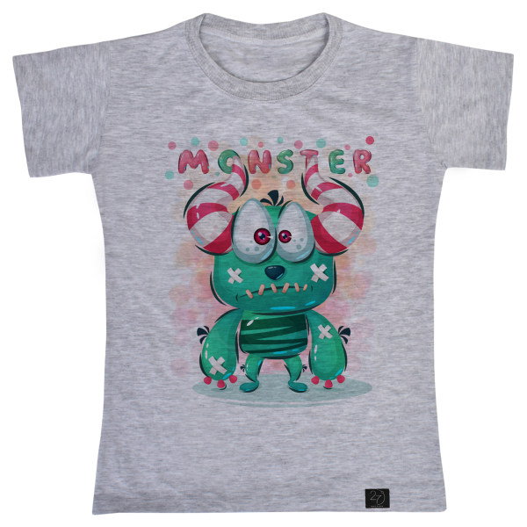 تی شرت پسرانه 27 طرح MONSTER کد V14