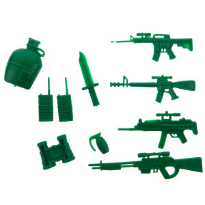 اسباب بازی جنگی مدل 001مجموعه 10 عددی