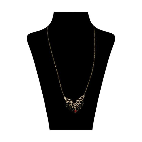 گردنبند طلا 18 عیار زنانه مایا ماهک مدل MM1177