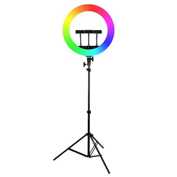 رینگ لایت مدل HQ18 RGB