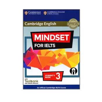 کتاب Cambridge English Mindset For IELTS 3 اثر جمعی از نویسندگان انتشارات الوندپویان