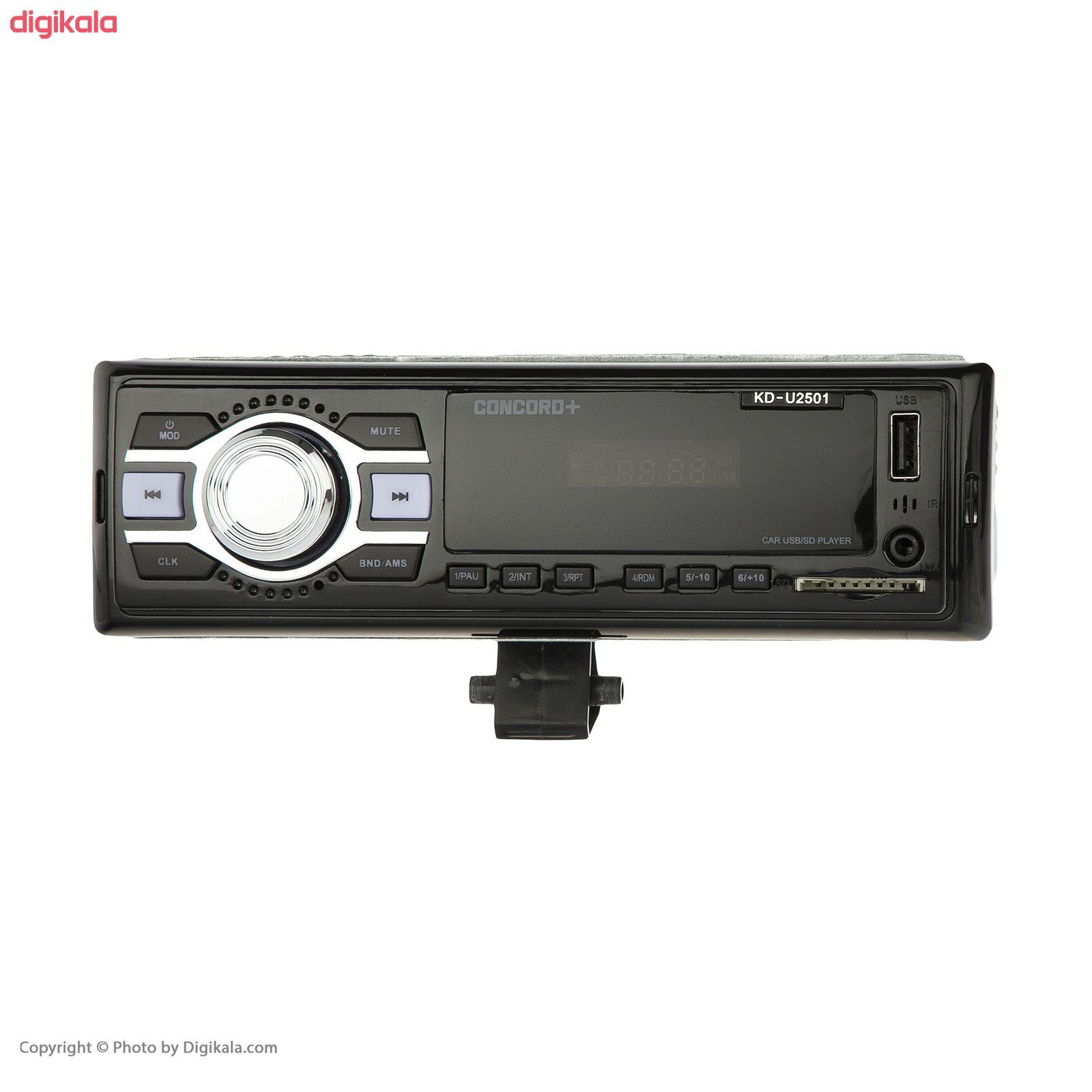 پخش کننده خودرو کنکورد پلاس مدل KD-U2501 main 1 1