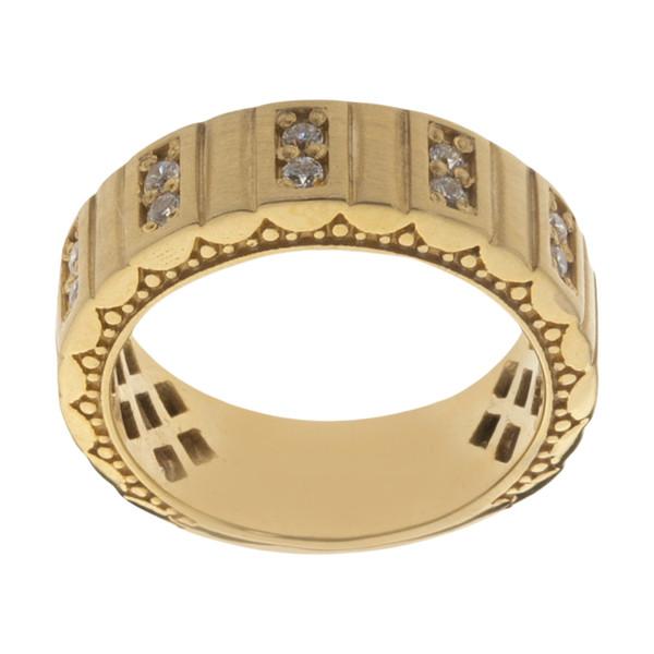 انگشتر طلا 18 عیار زنانه مایا ماهک مدل SR0107