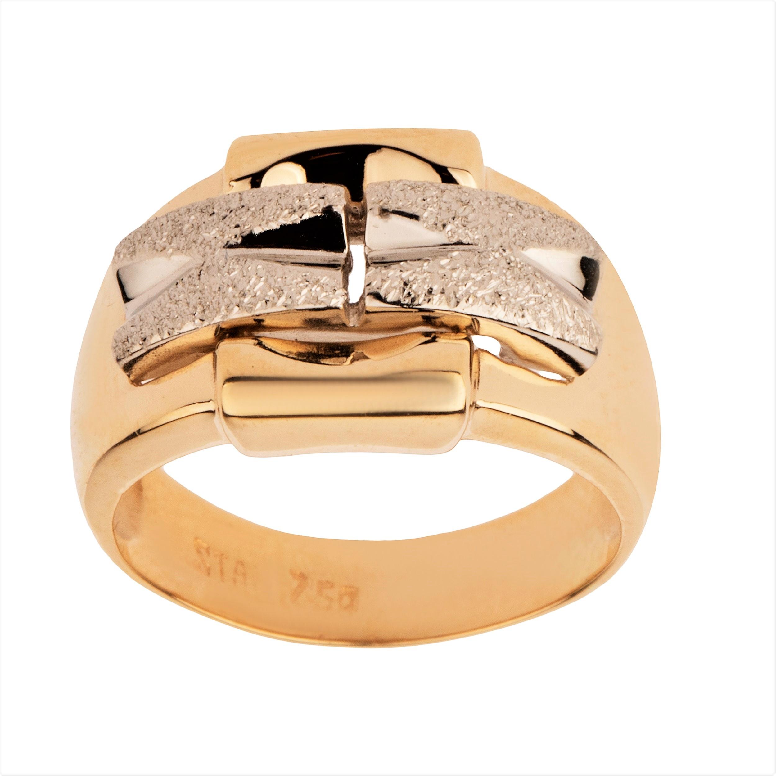 انگشتر طلا 18 عیار زنانه مدل T1679