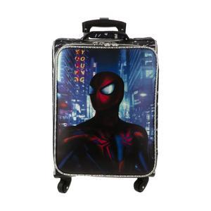 چمدان کودک مدل مرد عنکبوتی