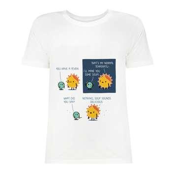 تی شرت آستین کوتاه زنانه مدل SK99Wiwa-037