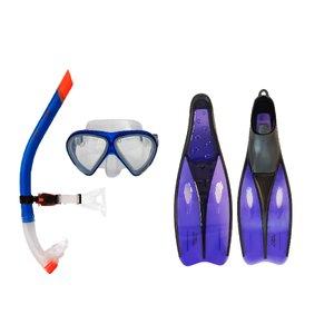 عینک و اسنورکل و فین غواصی آکوآپرو مدل 58329