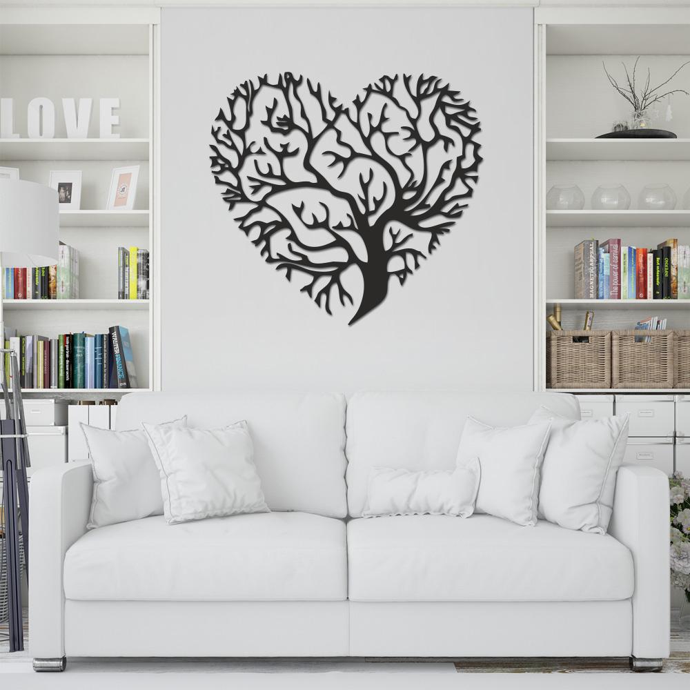 استیکر چوبی مدل heart of life