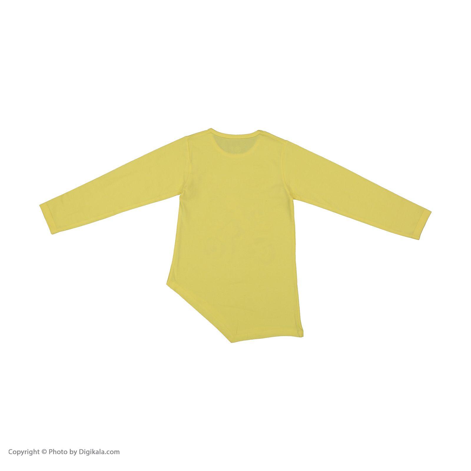 تی شرت دخترانه سون پون مدل 1391351-19 -  - 4