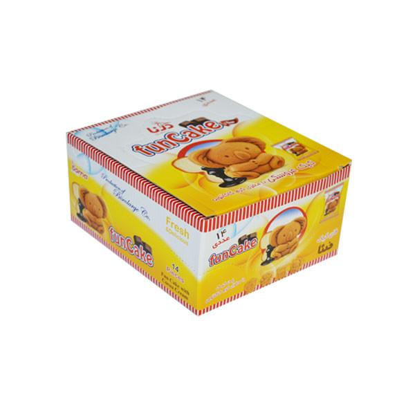 کیک فان کیک کاکائویی درنا بسته 14 عددی