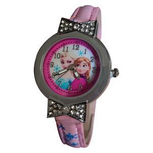 ساعت مچی عقربه ای دخترانه طرح فروزن مدل Fj1