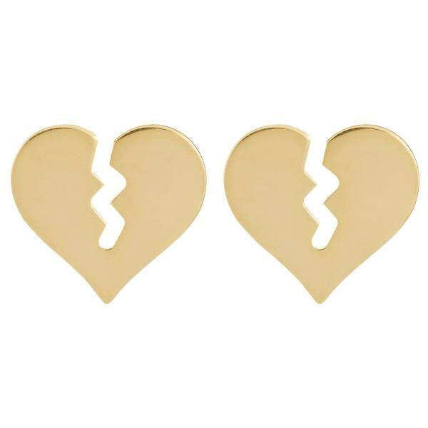 گوشواره طلا 18 عیار زنانه کانیار گالری کد GOA112 -  - 2