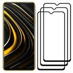 محافظ صفحه نمایش مدل FCG مناسب برای گوشی موبایل شیائومی Poco M3 بسته سه عددی thumb