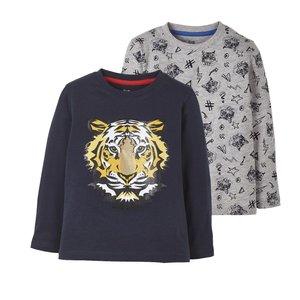 تی شرت پسرانه لوپیلو کد lus012 مجموعه 2 عددی