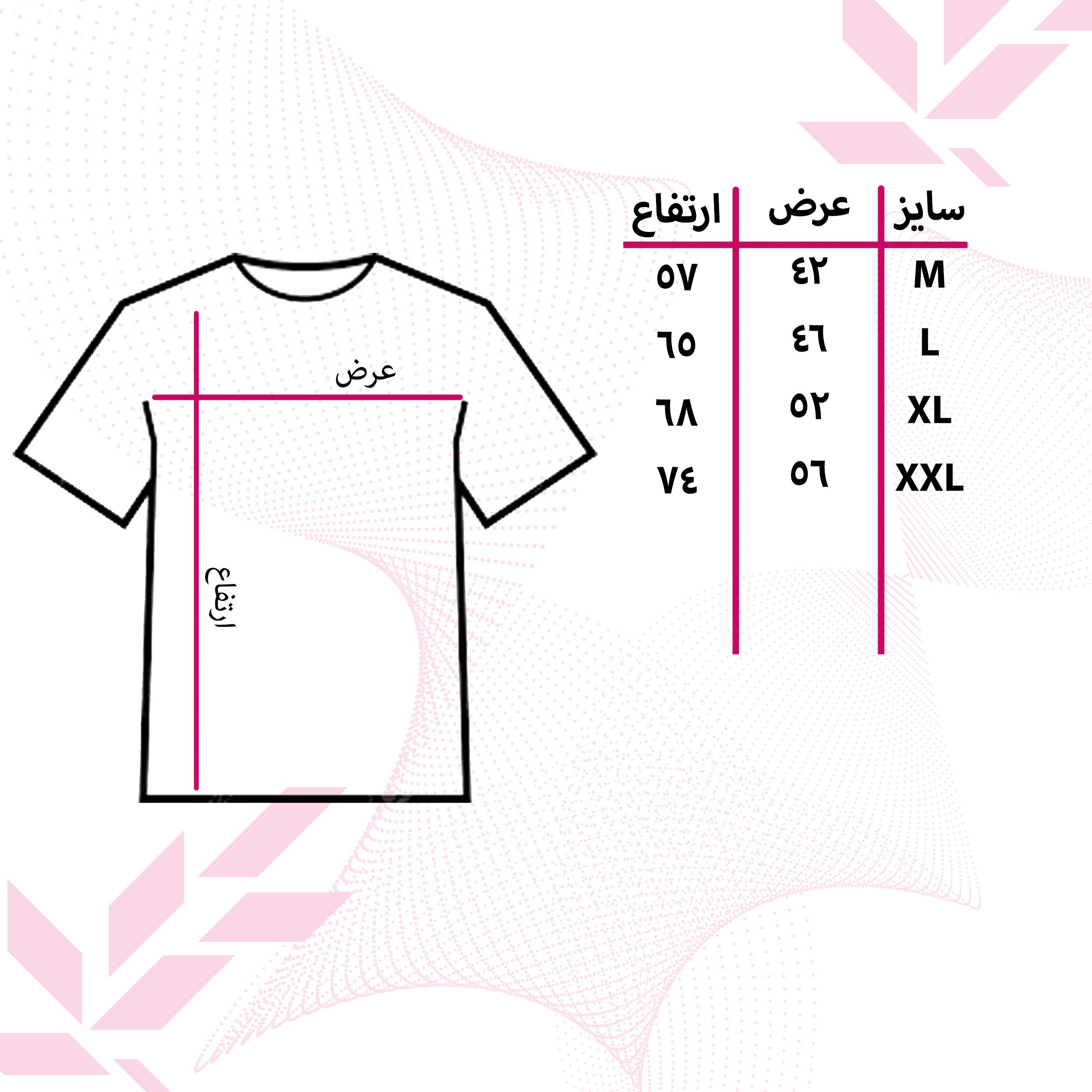 تیشرت زنانه 27 طرح FLOWER کد J23 -  - 5