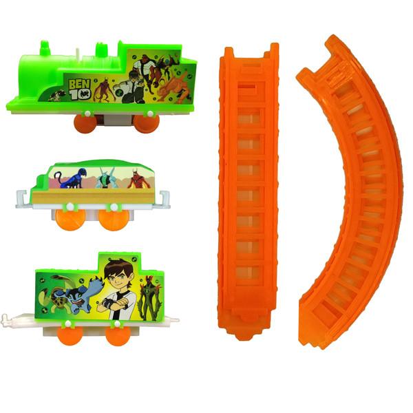 قطار بازی مدل بن تن کد t3