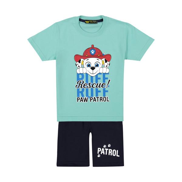 ست تی شرت و شلوارک بچگانه خرس کوچولو مدل 2011199-53