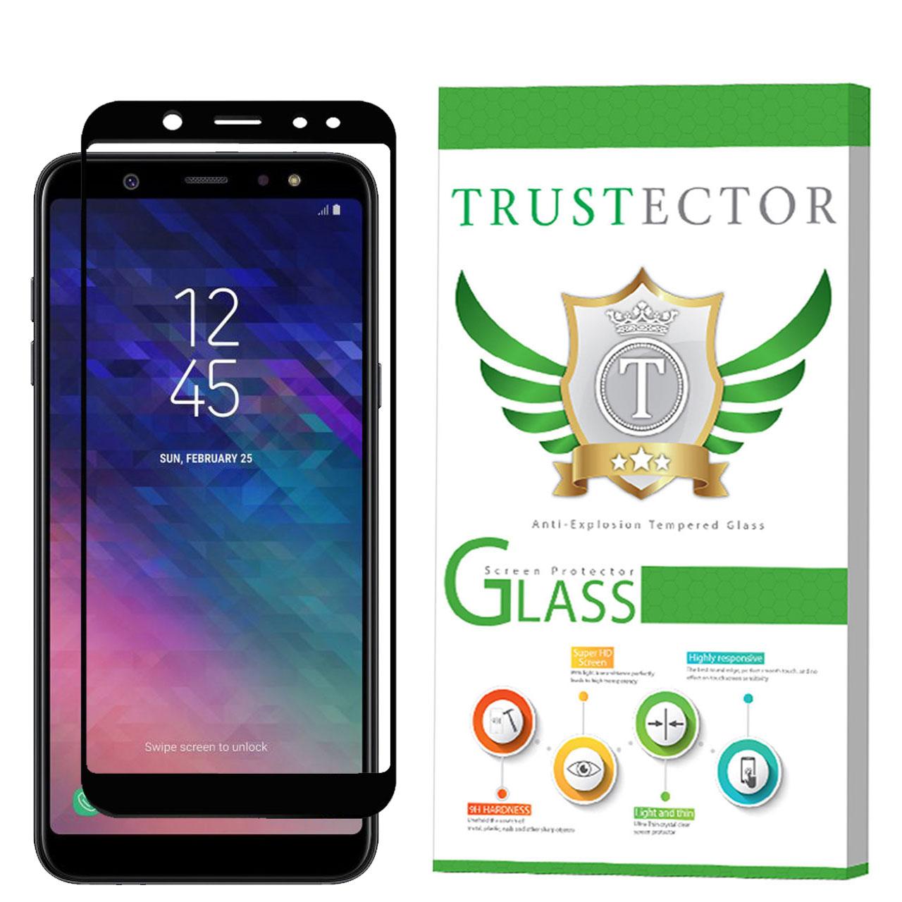 بررسی و {خرید با تخفیف} محافظ صفحه نمایش سرامیکی تراستکتور مدل CMC-T مناسب برای گوشی موبایل سامسونگ Galaxy A6 Plus 2018 اصل