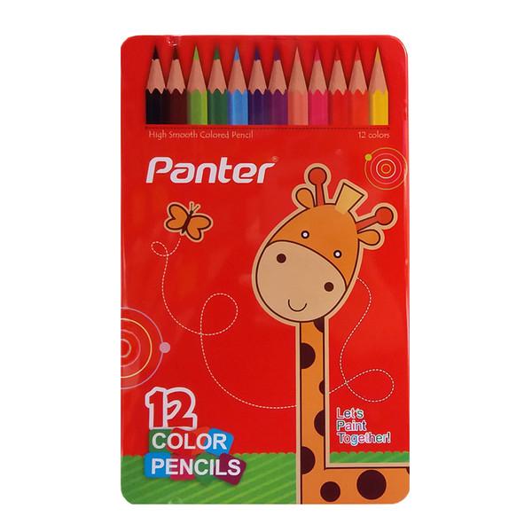 مداد رنگی 12 رنگ پنتر مدل IR کد 143218