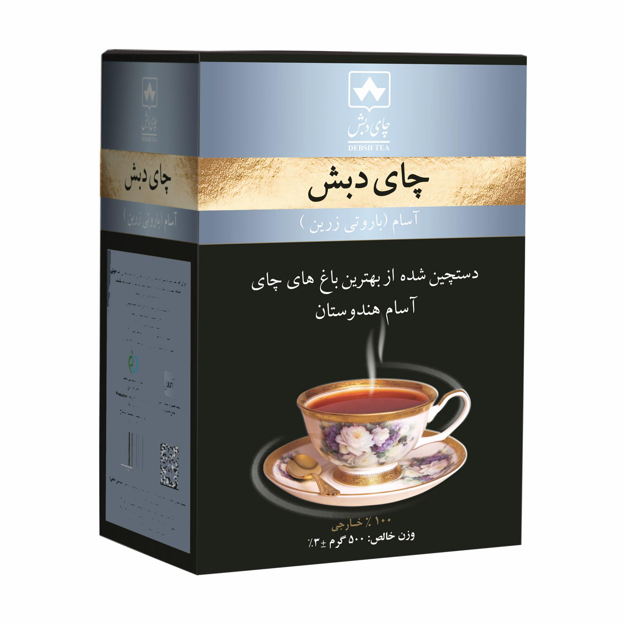 چای آسام باروتی چای دبش - 500 گرم