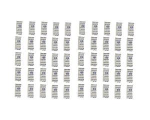 رطوبت گیر سیلیکا مدل setton وزن 1 گرم بسته 50 عددی