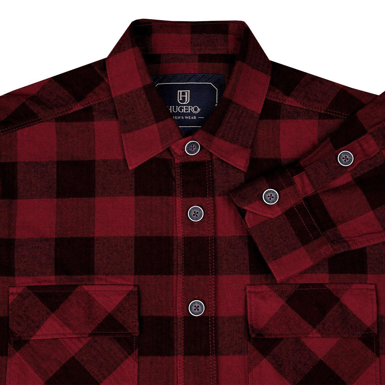 پیراهن آستین بلند مردانه جی تی هوگرو مدل 199525 -  - 4
