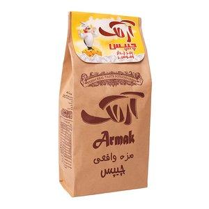 چیپس پنیر چدار و موسیر آرمک - 120 گرم