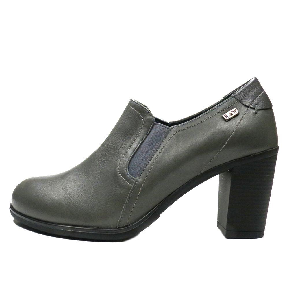 کفش زنانه آر اند دبلیو مدل 487 رنگ طوسی