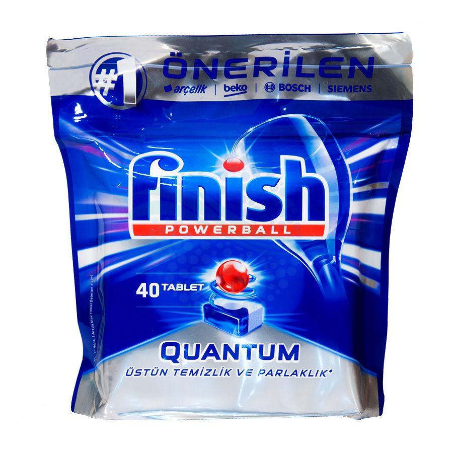قرص ماشین ظرفشویی فینیش مدل کوانتوم بسته 40 عددی  main 1 1