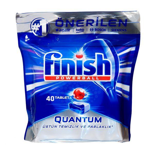 قرص ماشین ظرفشویی فینیش مدل کوانتوم بسته 40 عددی