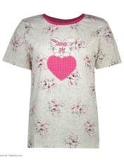 ست تی شرت و شلوارک راحتی زنانه مادر مدل 2041105-66 -  - 3
