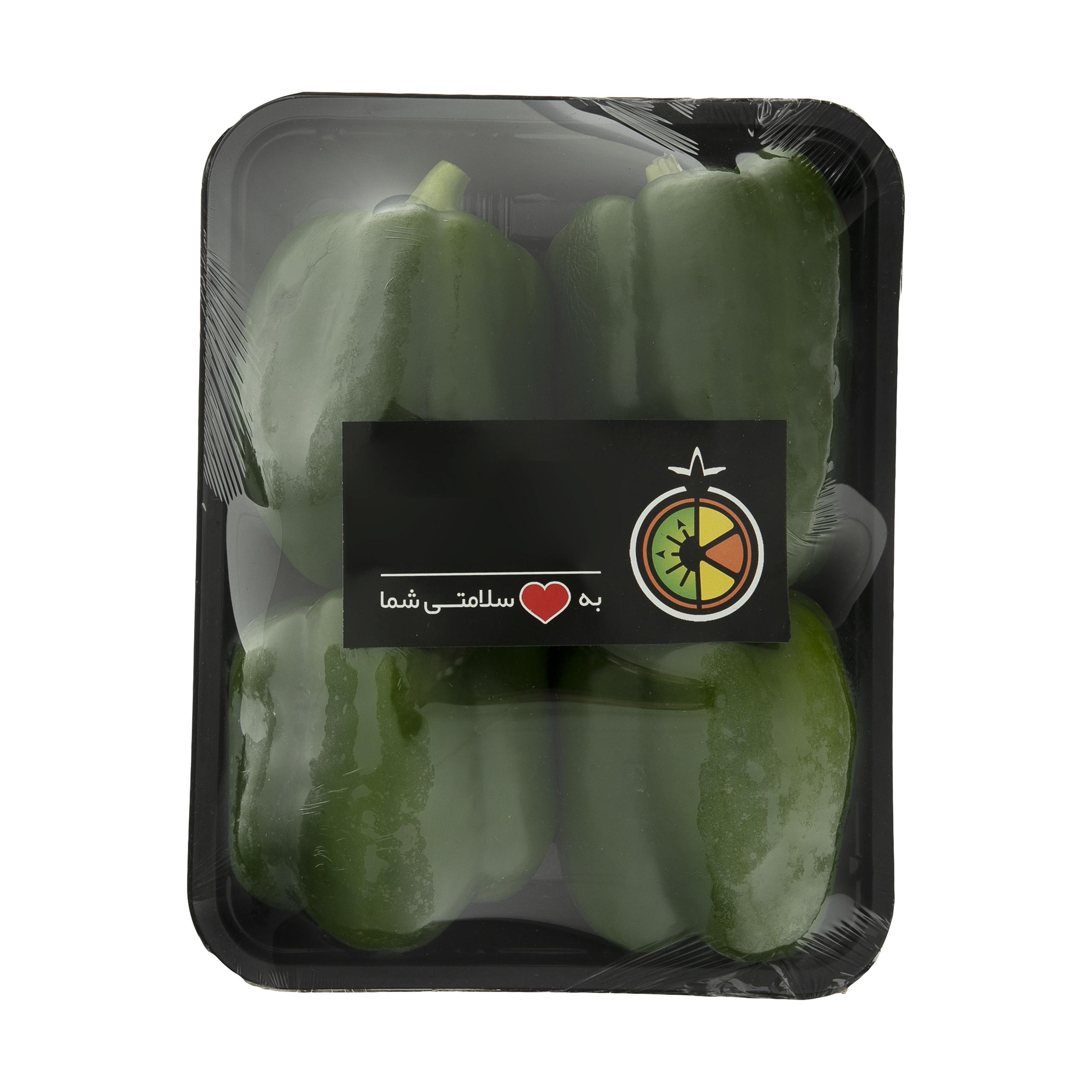فلفل دلمه سبز ميوري - 500 گرم