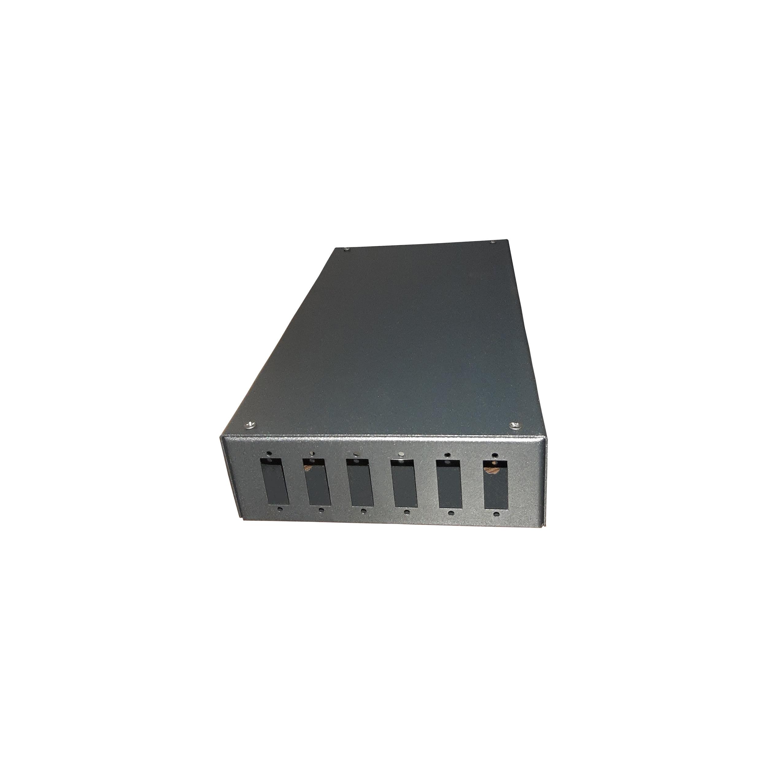بررسی و خرید [با تخفیف]                                     پچ پنل 6 پورت مدل WPP6P.SC.VER.B.sim                             اورجینال