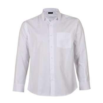 پیراهن آستین بلند مردانه ناوالس مدل NoX8020-WH
