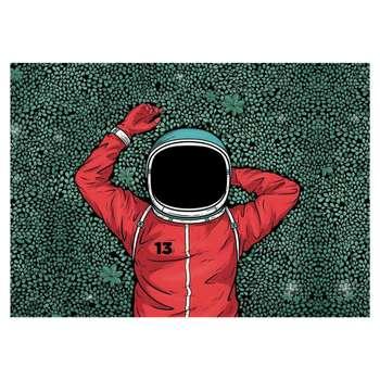 تابلو شاسی  طرح فضانورد کد 13