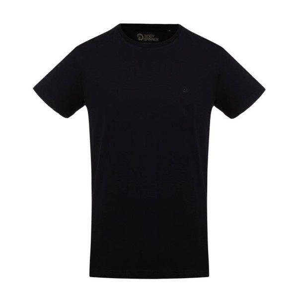 تیشرت آستین کوتاه مردانه بادی اسپینر مدل 11964737 رنگ مشکی