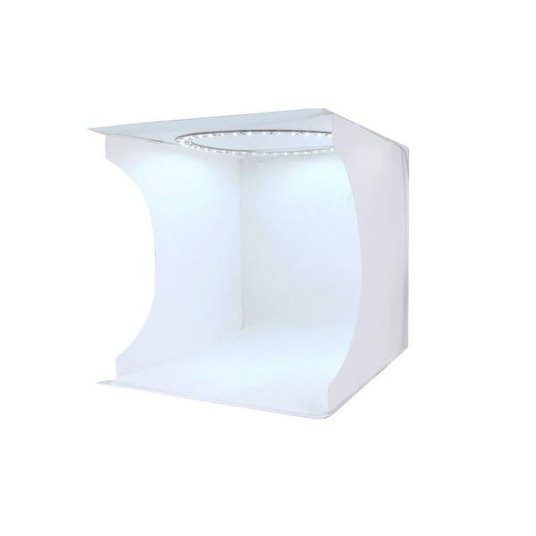 چادر عکاسی پلوز مدل Ring LED ابعاد 23x23 سانتی متر