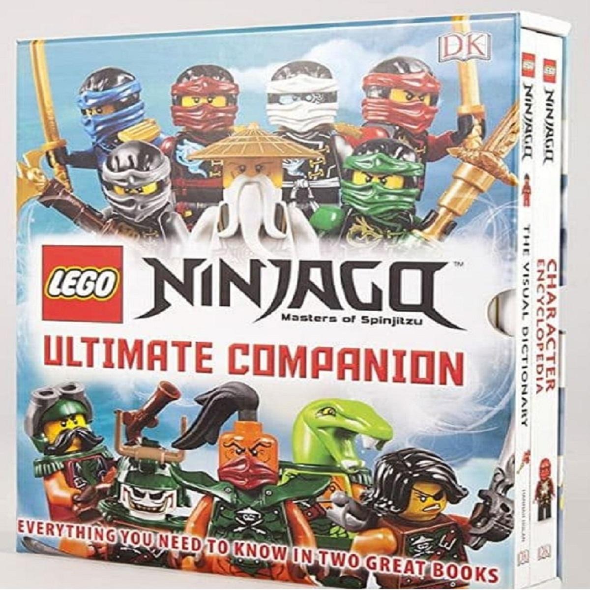 مجله LEGO NINJAGO ULTIMATE COMPANION دسامبر 2016 مجموعه ۲ جلدی