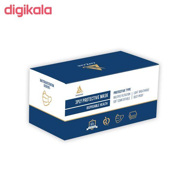 ماسک تنفسی انزانی مدل BK3 بسته 50 عددی main 1 1